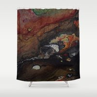 inception Shower Curtains featuring INCEPTION by ..........