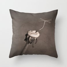 Dancing Dandilion. Throw Pillow