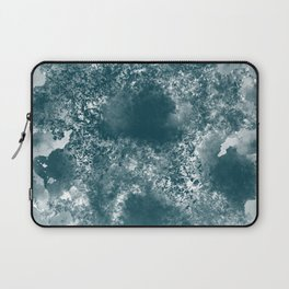 Teal Abstract Laptop Sleeve