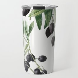 Olive (Olea europaea) from Traite des Arbres et Arbustes que lon cultive en France en pleine terre ( Travel Mug