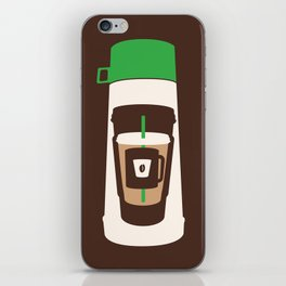 The Coffee Stacker iPhone Skin