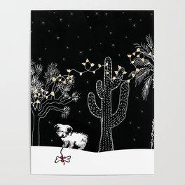 Desert Christmas Poster