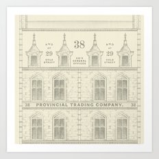Provincial Trading Co's General Office Art Print