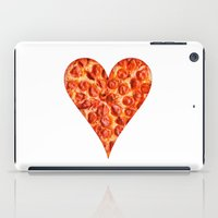 pizza iPad Cases featuring PIZZA by Good Sense