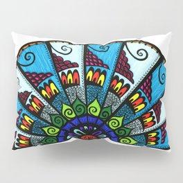 A  Fine Fan Pillow Sham
