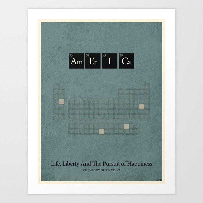 Chemistry of A Nation Art Print