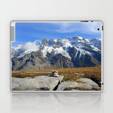 Trail Blazing the Alps Laptop & iPad Skin