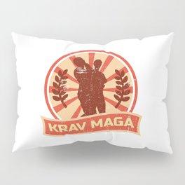 Krav Maga Propaganda | Martial Arts Self Defense Pillow Sham