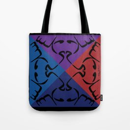 Arabic Peace Mandala Tote Bag