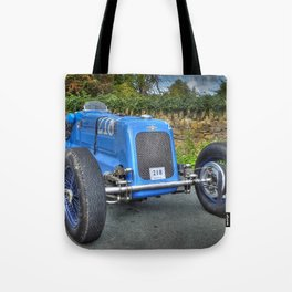 Frazer Nash Vintage Racing Car Tote Bag