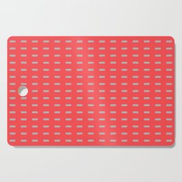 Pink and Grey Modernist Cutting Board