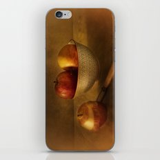 Still life with apples iPhone & iPod Skin