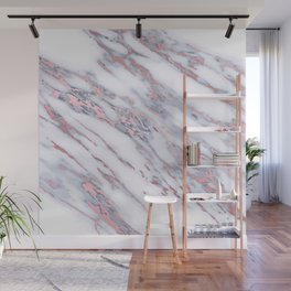 Rose Gold Stone Marble Wall Mural