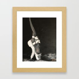 On Pointe Framed Art Print