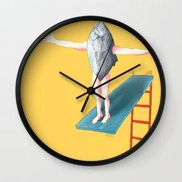 Interrupted Wall Clock