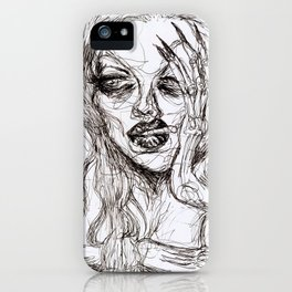 Ennui iPhone Case