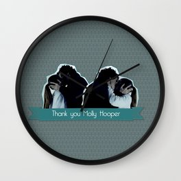 Thank you Molly Hooper Wall Clock