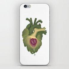 Cor, cordis (artichoke heart) iPhone & iPod Skin