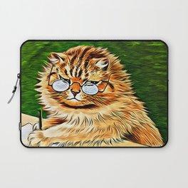 ORANGE TABBY CAT - Louis Wain's Cats Laptop Sleeve