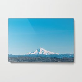 Mt. Hood from Sandy Metal Print