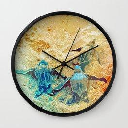 The way home Wall Clock