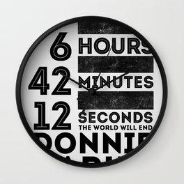 Donnie Darko 28:6:42:12 Wall Clock