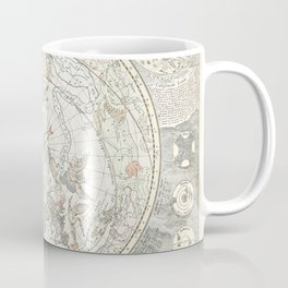 Star map of the Southern Starry Sky Coffee Mug
