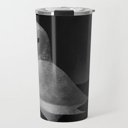 Barn Owl Full Moon Travel Mug