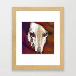 Red Lur I Illustrious dogs. Framed Art Print