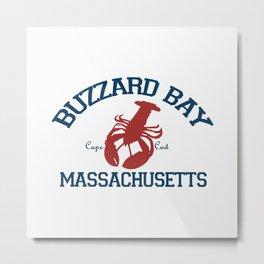 Buzzard Bay. Cape Cod Metal Print