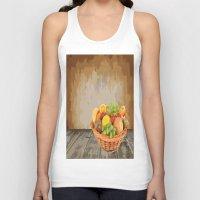 fruit Tank Tops featuring fruit by Shea33