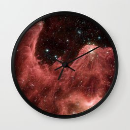 cassiopeia and the raging towers of poseidon | space #06 Wall Clock