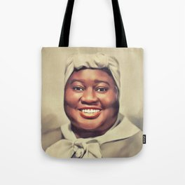 Hattie McDaniel, Vintage Actress Tote Bag