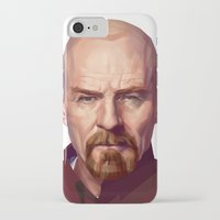 walter white iPhone & iPod Cases featuring WALTER WHITE by nachodraws