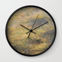 blurred perception of nature #4 Wall Clock