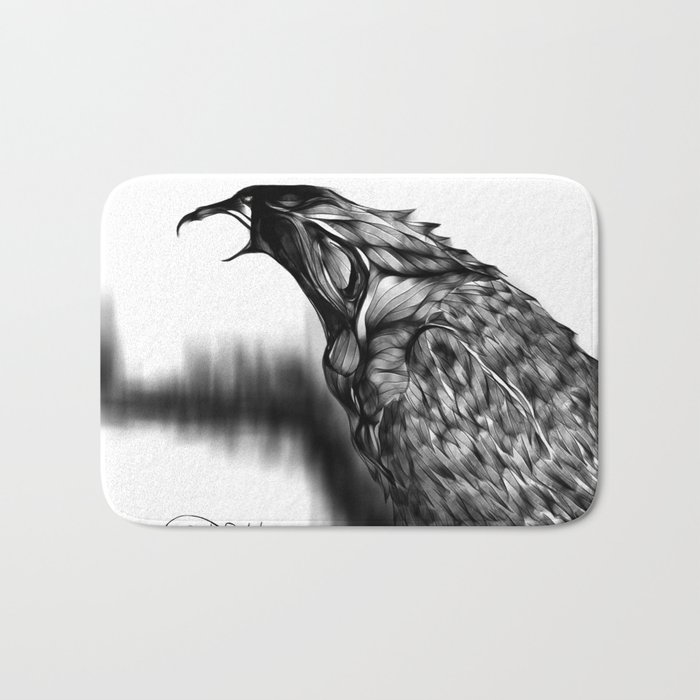 cool sketch 100  Bath Mat