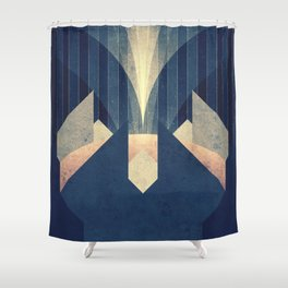 Europa - The Great Plumes Shower Curtain