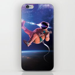Space Uke  iPhone Skin