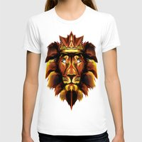 lion king T-shirts featuring Lion King by Mart Biemans