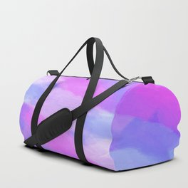 Watercolor Abstract Texture in Pastel Colors Duffle Bag