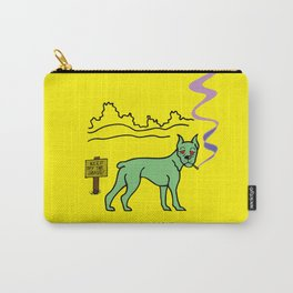 KEEP OFF THE GRASS! Carry-All Pouch