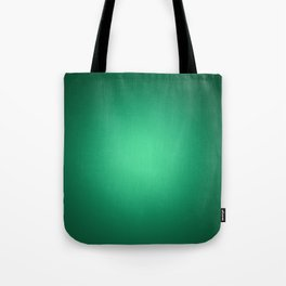 White spotlight on green Tote Bag