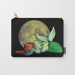 The Mermaid And The Moon Carry-All Pouch