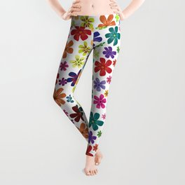 Flowers - Flowers Leggings