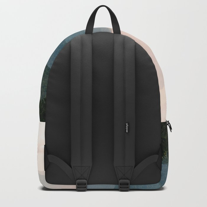 Smoky Mountain Pastel Sunset Rucksack