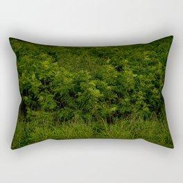 Oahu green Rectangular Pillow