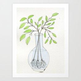 Branch Clippings Art Print