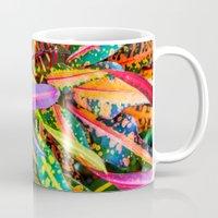 karu kara Mugs featuring SIMPLY LEAVES by Catspaws