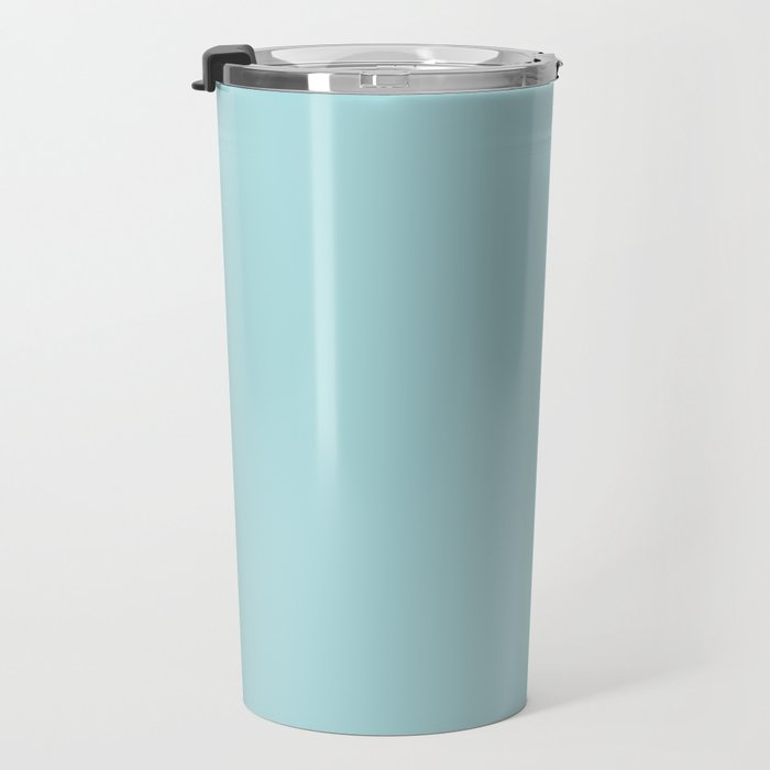Robin's Egg Aqua Blue Travel Mug