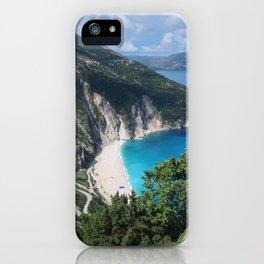 Myrtos beach, Kefalonia - Greece iPhone Case